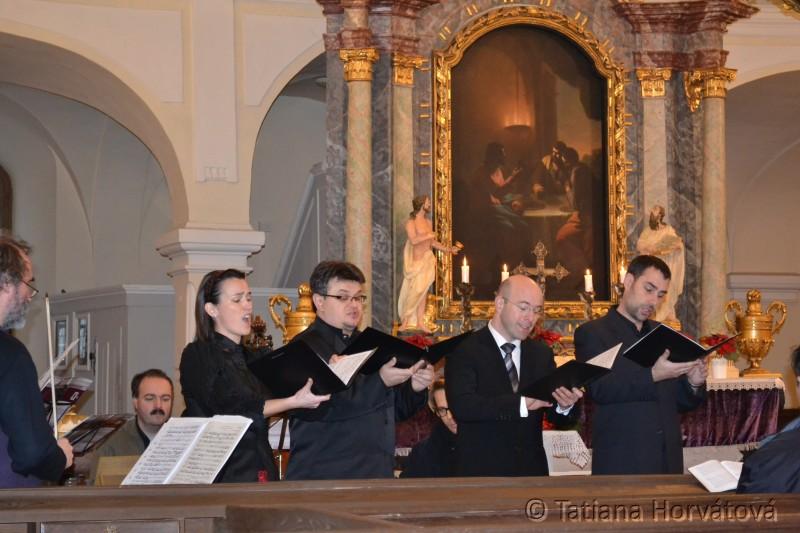 Kantátové služby Božie so súborom Solamente Naturali Bratislava, Foto: Tatiana Horvátová