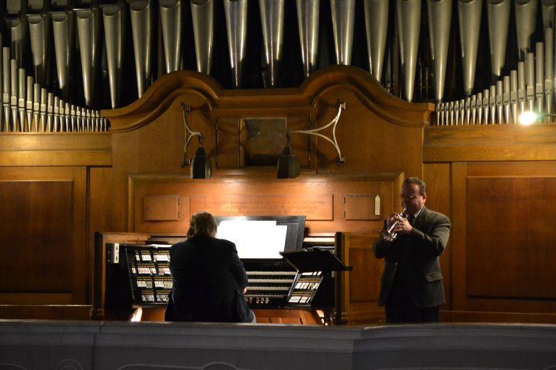 Ekumenický modlitebný večer - Hudobný úvod, Foto: Tatiana Horvátová