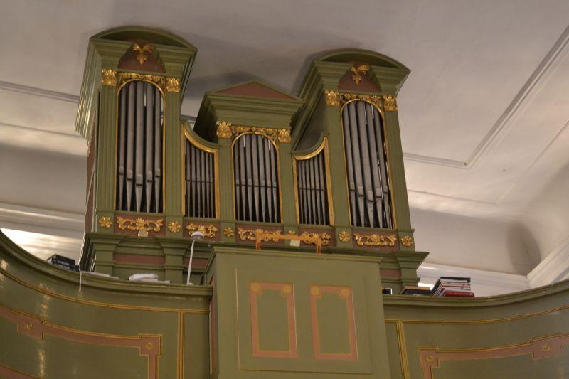 Organ v Malom kostole, Foto: Tatiana Horvátová