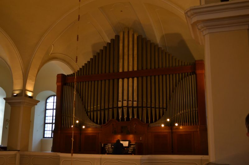 Organ vo Veľkom kostole, Foto: Tatiana Horvátová