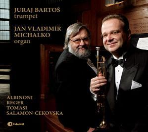 Diela pre trúbku a organ; interpreti J. Bartoš a J. V. Michalko