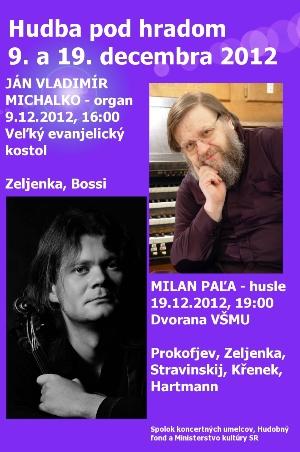 Hudba pod hradom 9. a 19. decembra 2012